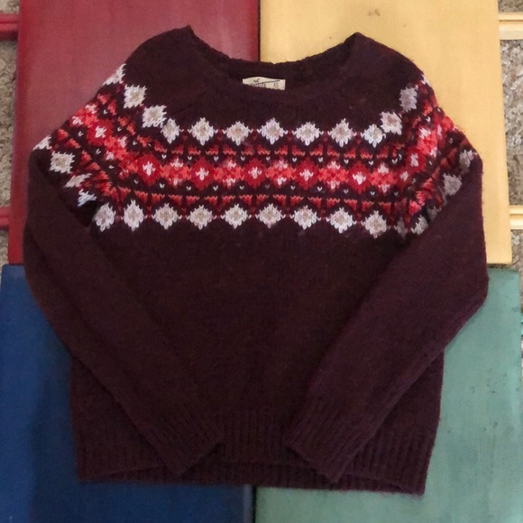 Hollister Sweaters - Hollister sweater xs